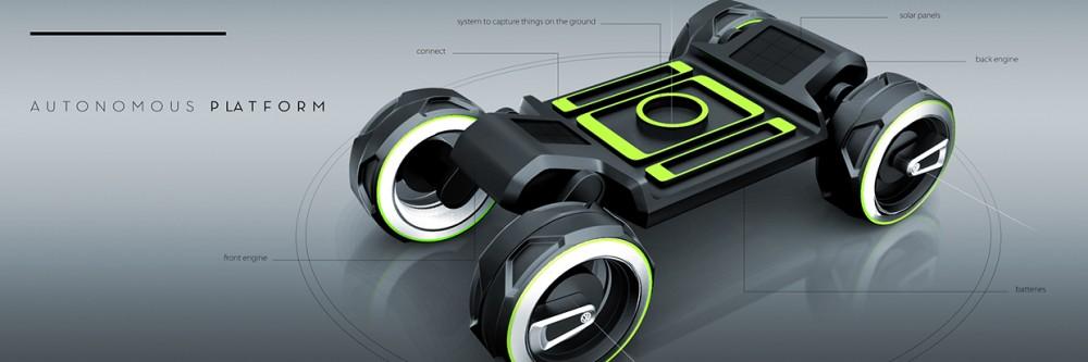 Стажер Volkswagen создал уникальный концепт-кар