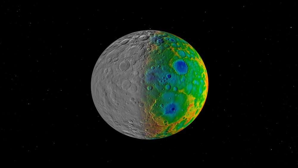 Отсутствие больших кратеров наЦерере внемалой степени изумило ученых