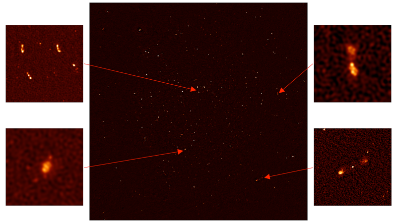 Недостроенный Южно-Африканский телескоп нашел первую тысячу галактик