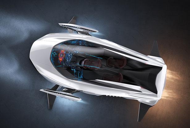 Разработан летающе-плавающий концепт-кар