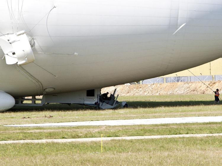Инновационный дирижабль не выдержал второго полета