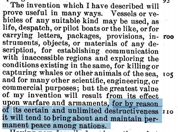 Оказывается идея создания дронов принадлежит Тесле