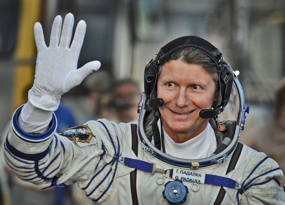 В сеть выложили видео полета российских космонавтов к МКС