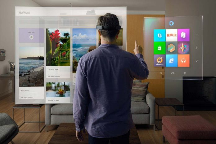 Очки HoloLens
