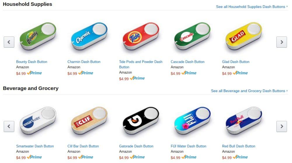 Появилась смарт-кнопка для заказа продуктов