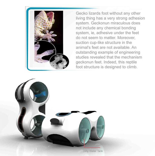 """Создана реальная концепция устройство с использованием """"гекконовых лап"""""""