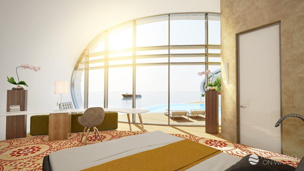 """В Дубае построили новый квартал с """"зелеными"""" плавучими домами"""