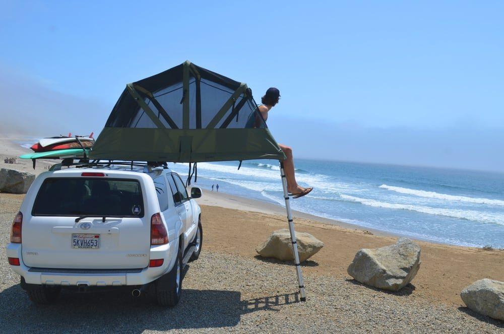 Компания Tepui разработала палатки с возможностью установки на крыше автомобиля