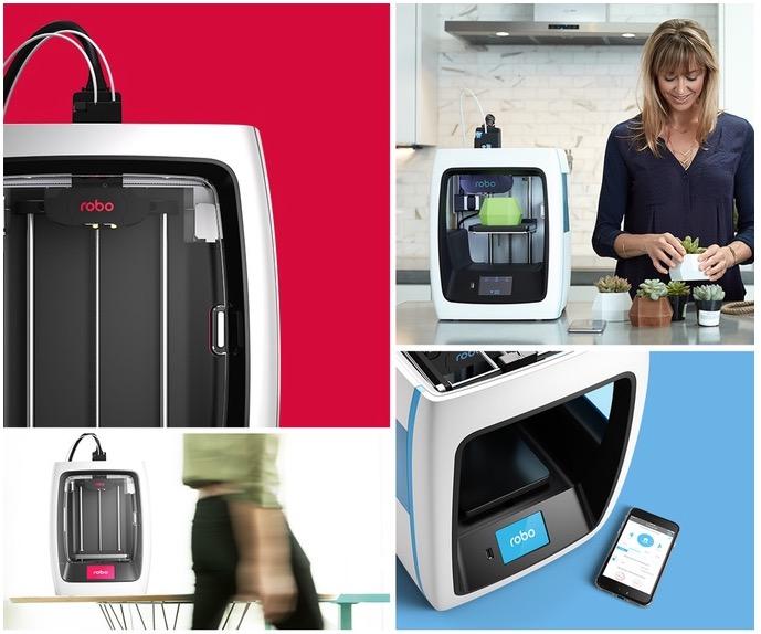 Компания Robo представила новую линейку 3D-принтеров