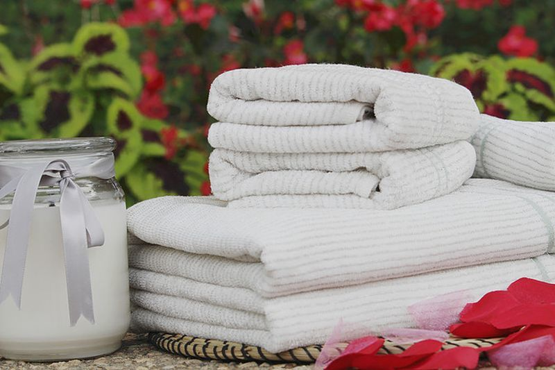 Созданы полотенца из серебра и бамбука