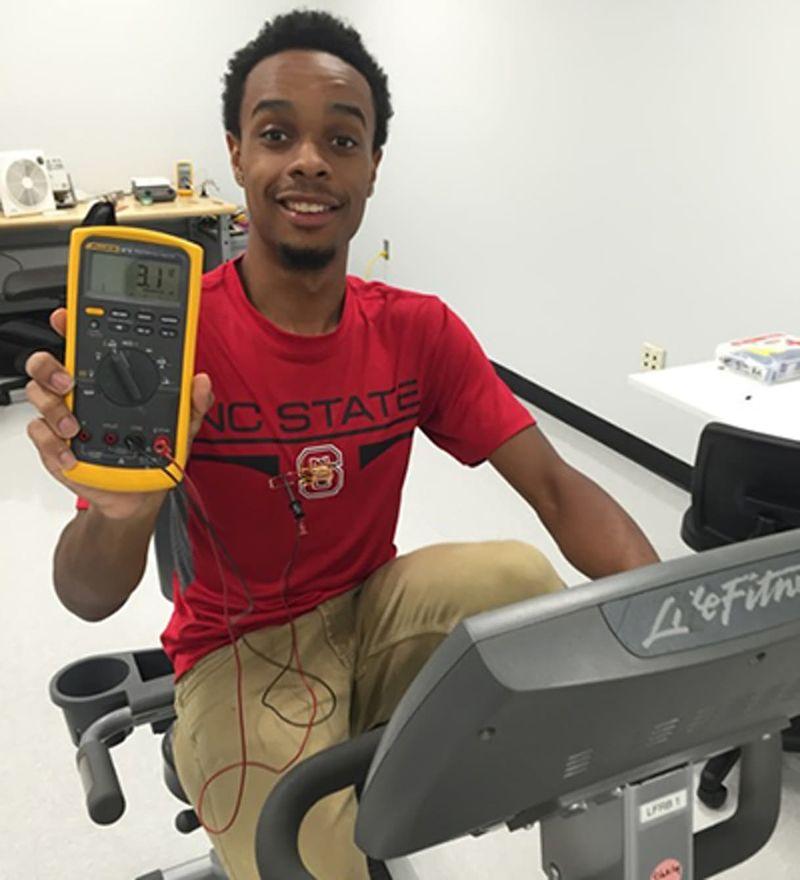 Разработано устройство для зарядки гаджетов от тела