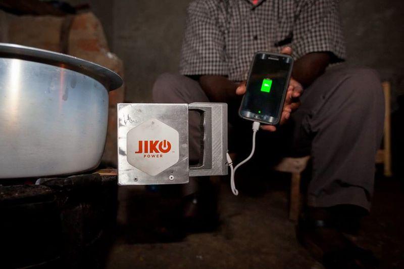 Стартаперы создали зарядное устройство работающее от огня
