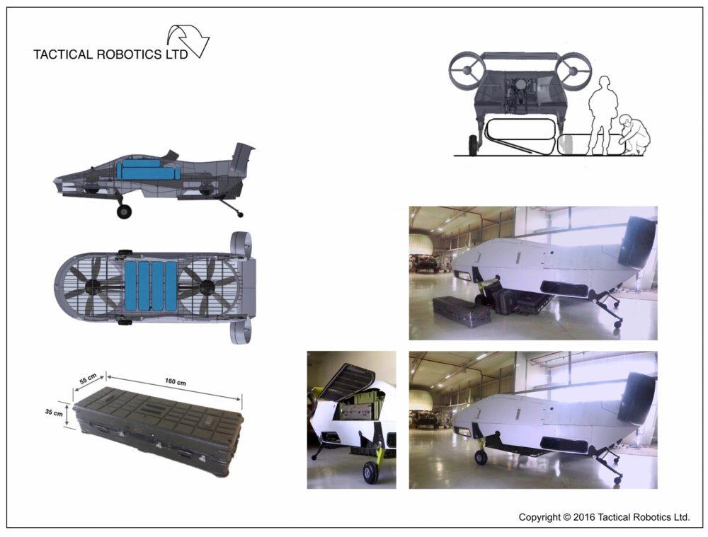 Израиль создал дрон способный перенести 500 килограмм полезной нагрузки