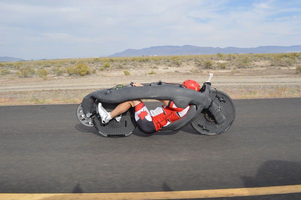 Самый быстрый велосипед прошел скоростные испытания