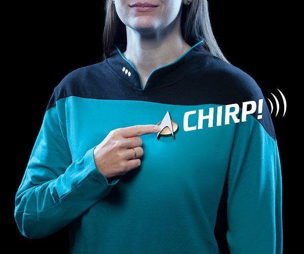 Разработан коммуникатор в стиле Star Trek