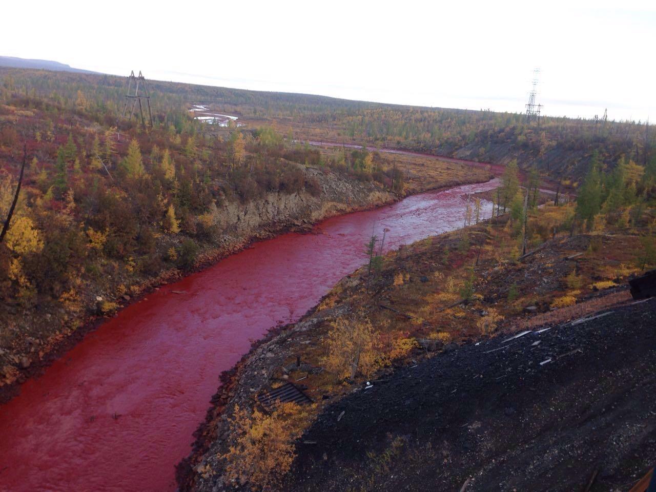 красная река фото норильск