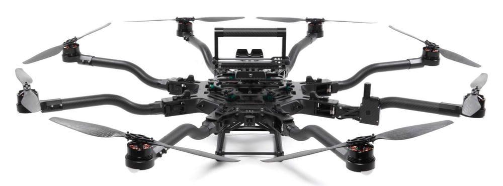 Разработан дрон, который способен выдержать вес человека