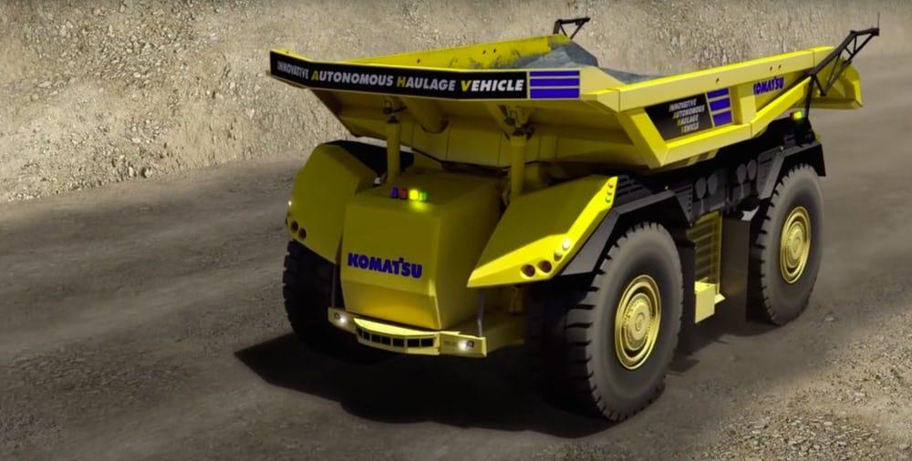 Будущее индустриального транспорта— Беспилотный карьерный грузовой автомобиль
