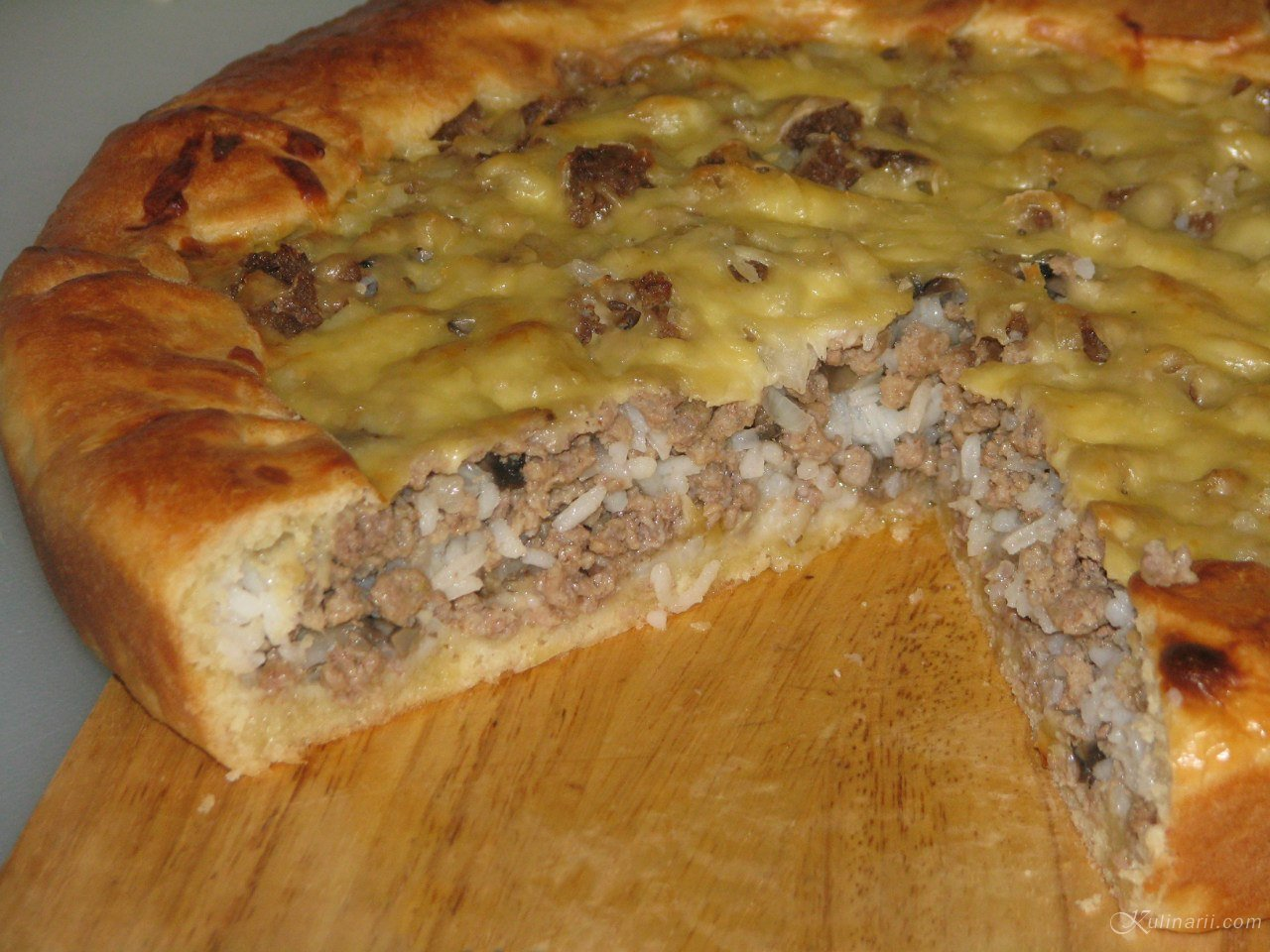 Пироги с мясом домашние с пошагово