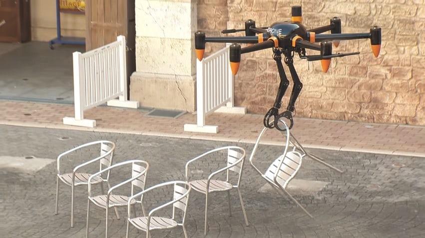 Создан летающий робот