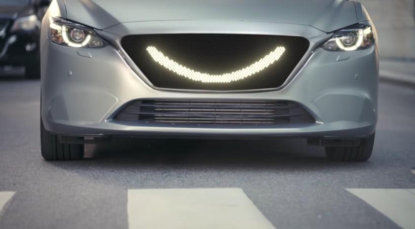 """В Швеции изобрели """"улыбающийся автомобиль"""""""