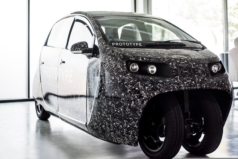Стартаперы создают очень необычное такси с электрокарами