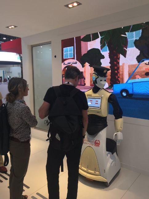 В 2017 году в Дубае могут появиться робокопы