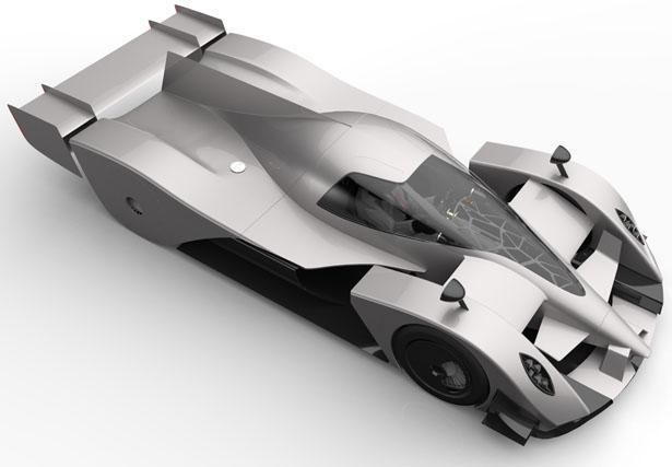 Представлен концепт-кар с ветрогенераторами в колесах
