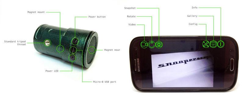 Создан объектив-насадка для ночного видения на смартфон