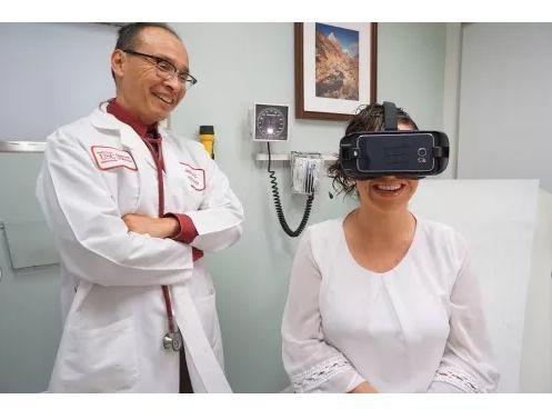 Виртуальную реальность будут использовать для помощи больным раком