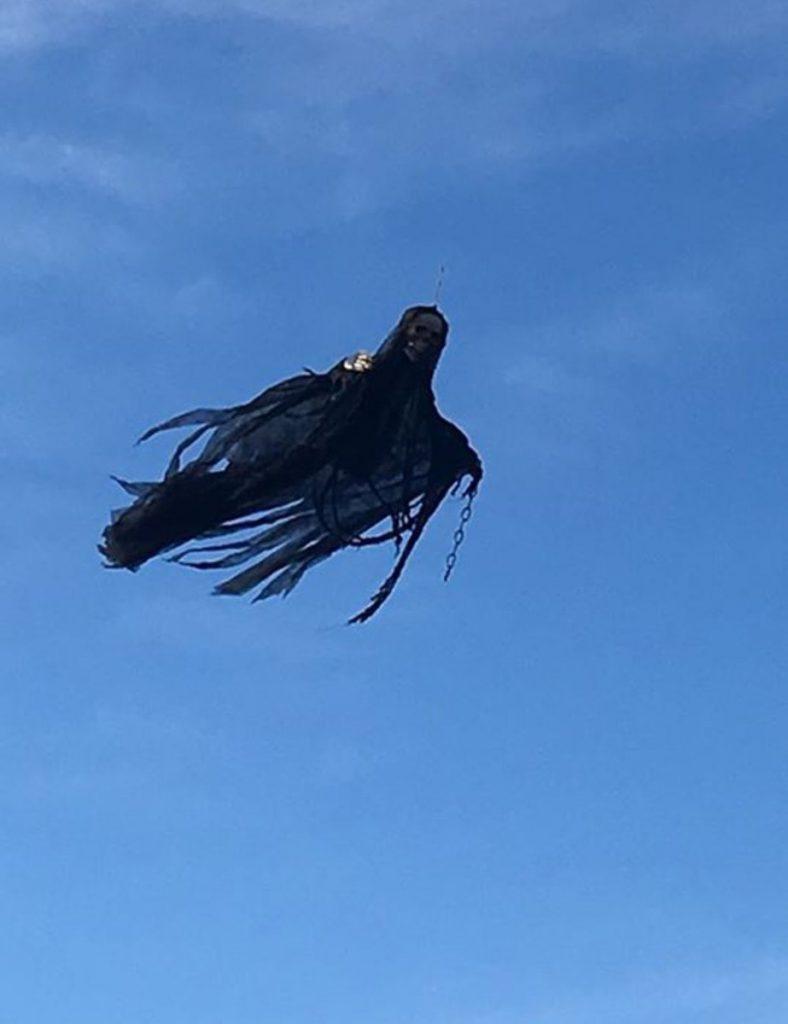 Мужчина создал монстра при помощи дрона