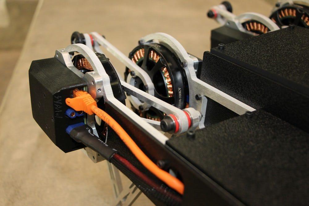 Разработан функциональный устойчивый робот