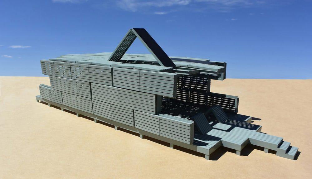 Спроектирован подвижный дом меняющий форму