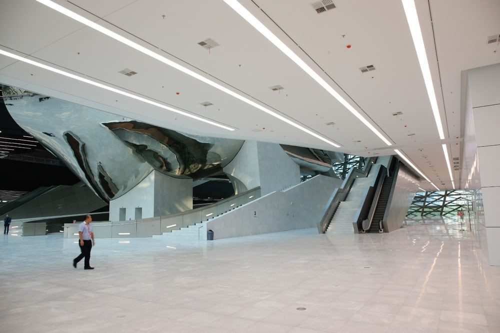 В Китае построили музей похожий на космопорт
