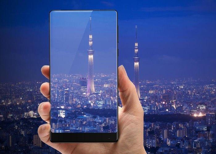 Xiaomi выпускает новый «безрамочный» смартфон скерамическим корпусом
