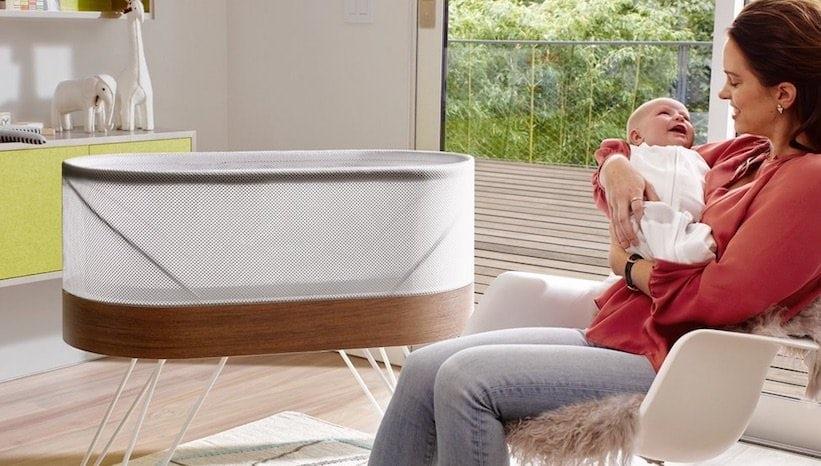 Создана детская кроватка не позволяющая ребенку проснуться от шума