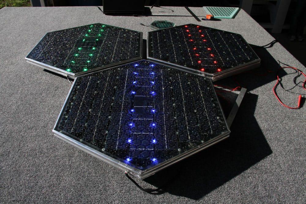 Построена первая солнечная дорога