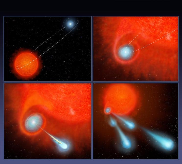 Похоже астрономы разгадали загадку странной звезды