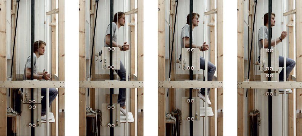 Новый концепт превратит каждого человека в подъемный механизм лифта
