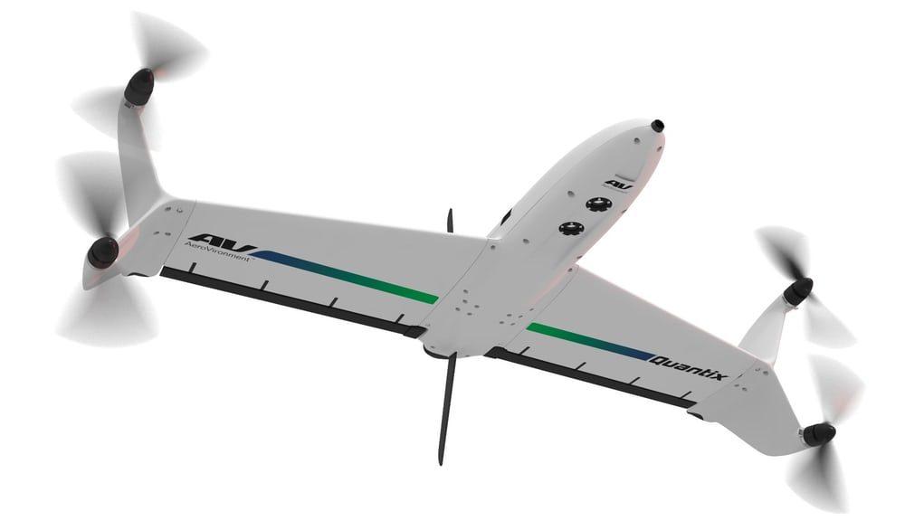 Создан беспилотный самолет с вертикальным взлетом и посадкой