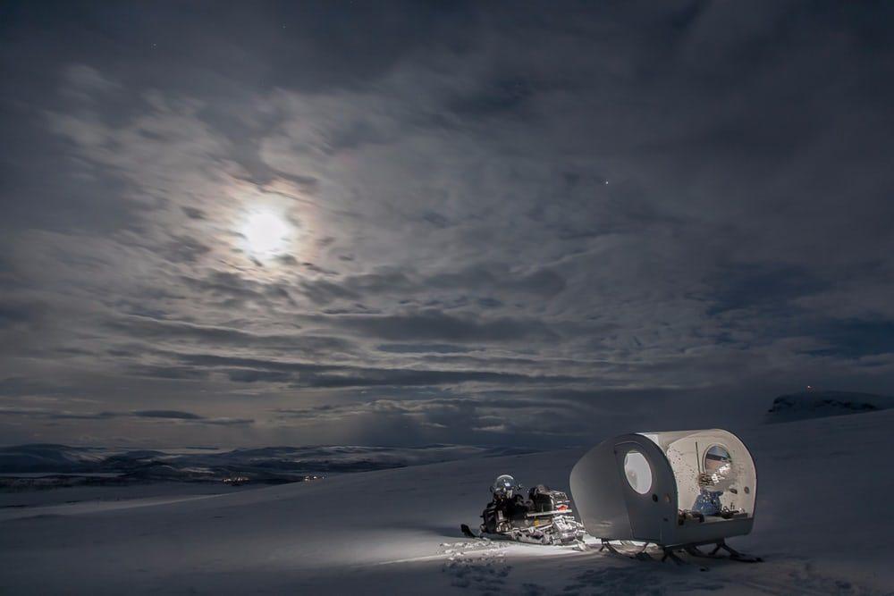 Появились самые технологичные сани севера