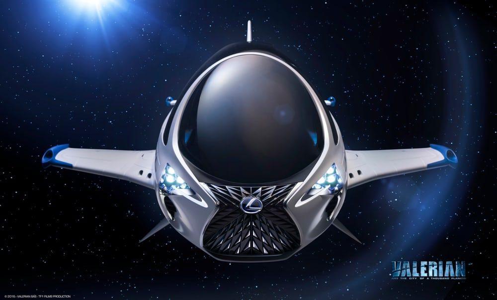 Lexus создал концепцию космического корабля