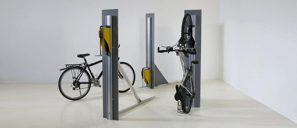 Представлена новая система для компактного хранения велосипедов