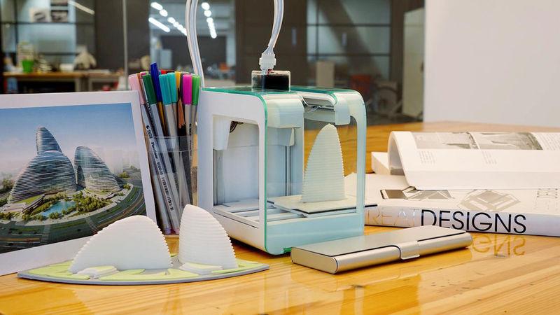 Анонсирован миниатюрный 3D принтер
