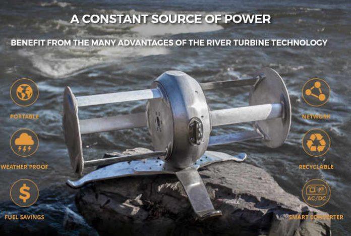 Представлен портативный генератор работающий на воде
