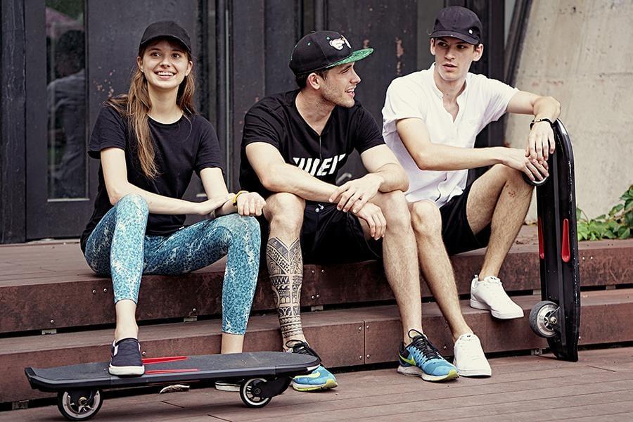 Скейтборд с двигателем - фантастическая реальность