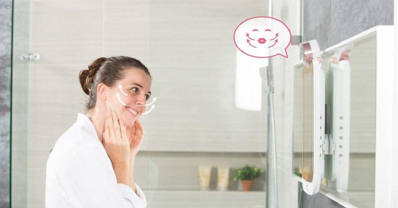 Появилось смарт-зеркало заменяющее косметолога