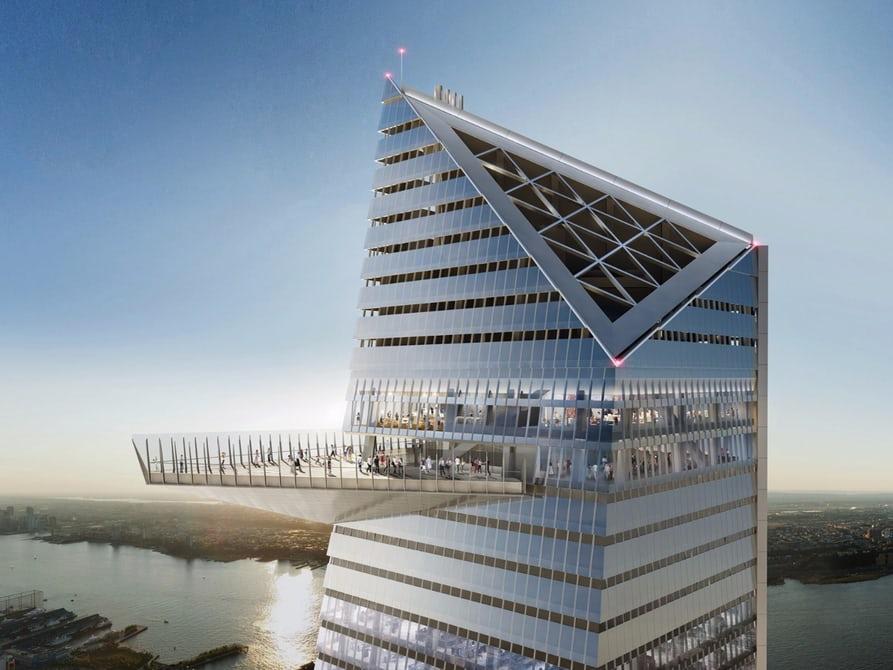 В Нью-Йорке появится новый 300-метровый небоскреб