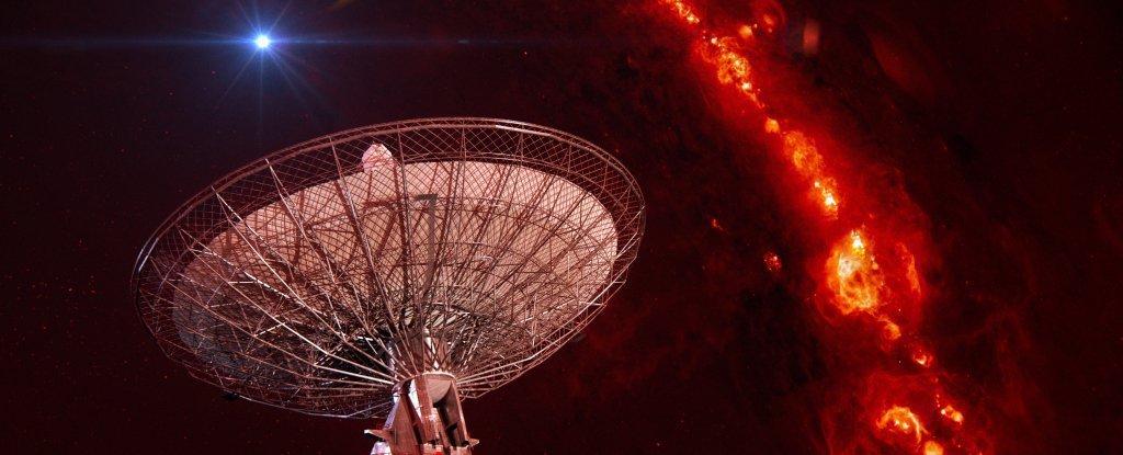Астрономы поймали 5 таинственных сигналов из космоса