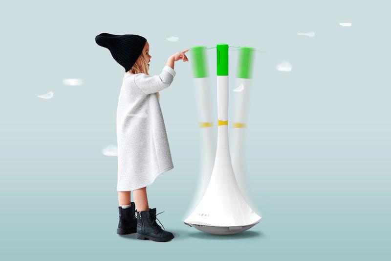 Разработан дружественный к детям очиститель воздуха